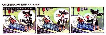 Tira publicada no caderno Ilustrada, do jornal Folha de S. Paulo